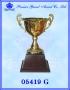 ถ้วยรางวัล อิตาลี 05419 สีทอง